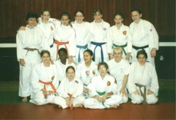 jpeg image of Surrey Girls with Karen Briggs